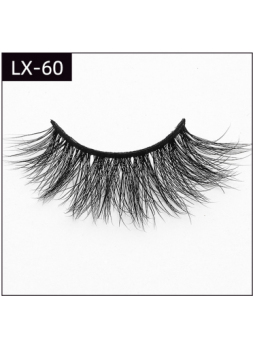 Dramatic vivid 3D Mink lashes