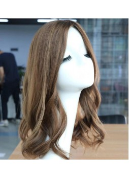 Makeupsbuy Customized Jewish Wig 100% European Russian Human Hair Sheitel Shevy/Irene/MiriJewish Wig Kosher Wigs With Silk Top For Israeli Woman